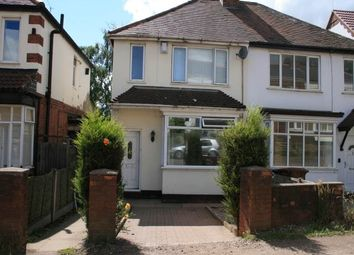 Thumbnail 3 bed semi-detached house to rent in Follyhouse Lane, Highgate, Walsall