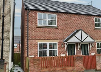 Thumbnail 2 bedroom semi-detached house for sale in Hull Road, Hessle
