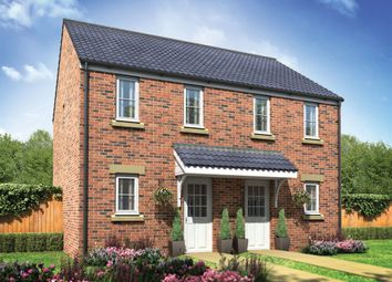 "Thumbnail 2 bed semi-detached house for sale in ""The Morden"" at Beccles Road, Bradwell, Great Yarmouth"