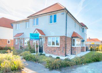Snowdown Caravan Site, Aylesham Road, Snowdown, Dover CT15. 3 bed semi-detached house for sale