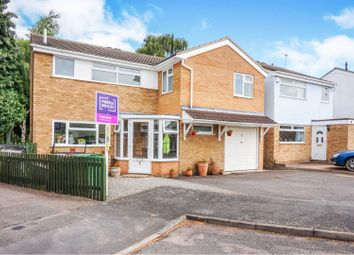 Thumbnail 5 bed detached house for sale in Crediton Close, Wigston