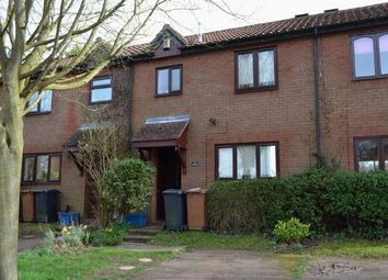 Thumbnail 2 bedroom terraced house to rent in Mallard Close, West Hunsbury, Northampton