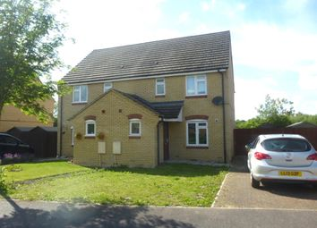 Thumbnail 3 bed semi-detached house for sale in Burtons, Meldreth, Royston