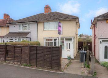 Thumbnail 3 bed semi-detached house for sale in Glastonbury Road, Birmingham