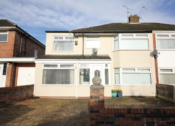 Thumbnail 4 bed semi-detached house for sale in Stonyhurst Road, Woolton, Liverpool