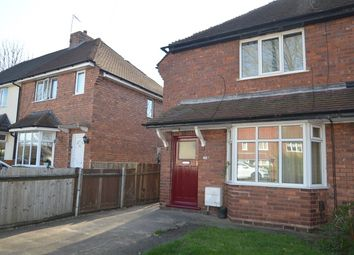 Thumbnail 2 bedroom semi-detached house to rent in Leighswood Avenue, Aldridge