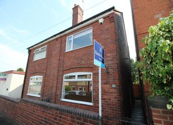 Thumbnail 2 bed semi-detached house to rent in Holme Road, Chesterfield
