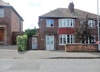 Thumbnail 3 bed semi-detached house for sale in Carlton Avenue, Worksop