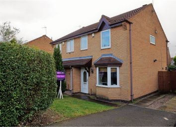 Thumbnail 3 bed semi-detached house for sale in Acacia Close, Leicester