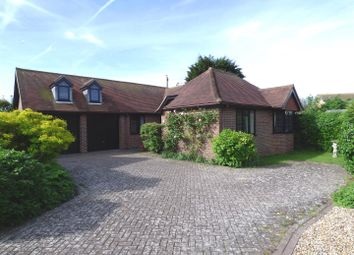 Thumbnail 4 bed detached bungalow for sale in Hazeldene, Seaford