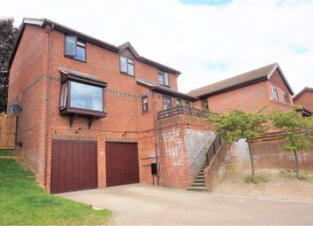 Thumbnail 4 bed detached house for sale in Glamis Close, Chatham
