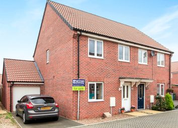 Thumbnail 3 bed semi-detached house for sale in Countess Road, Market Deeping, Peterborough