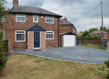 Thumbnail 3 bed semi-detached house for sale in Ash Avenue, Cheadle