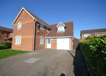 Thumbnail 4 bed detached house for sale in Laker Court, Oldbrook, Milton Keynes, Buckinghamshire