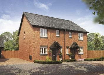 Thumbnail 3 bed semi-detached house for sale in Bramshall Road, Uttoxeter, Staffordshire