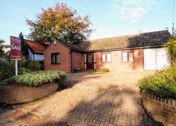Thumbnail 3 bed detached bungalow for sale in Postwick Lane, Brundall, Norwich