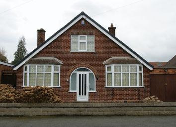 Thumbnail 2 bed detached bungalow for sale in Temple Drive, Nuthall, Nottingham