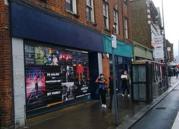 Retail premises to let in King Street, Hammersmith W6