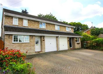 Thumbnail 4 bed semi-detached house for sale in Hilltop View, Yateley, Hants