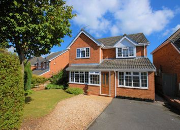 Thumbnail 3 bed detached house for sale in Foxglove Avenue, Uttoxeter