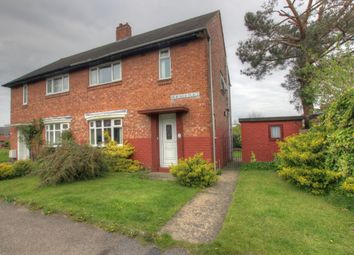 Thumbnail 2 bedroom semi-detached house for sale in Heaviside Place, Gilesgate, Durham