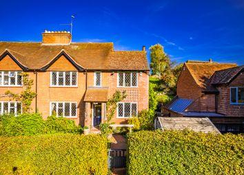 Thumbnail 4 bed semi-detached house for sale in 1 Park Farm Cottages, Lower Basildon