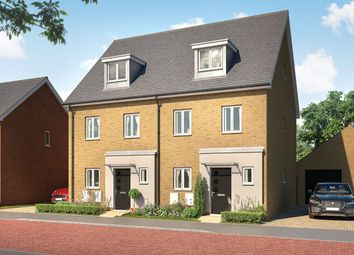 Thumbnail 3 bed semi-detached house for sale in Ram Gorse, Elizabeth Way, Harlow