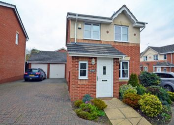 Thumbnail 3 bed link-detached house for sale in Viaduct Close, Rugby
