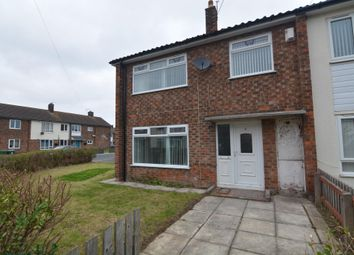 Thumbnail 3 bed end terrace house to rent in Franklin Road, Moreton, Wirral