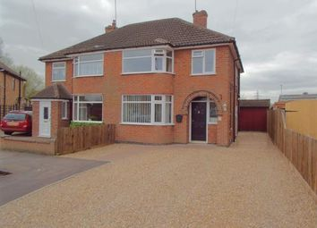 Thumbnail 3 bedroom semi-detached house for sale in Bilberry Close, Braunstone Town, Leicester, Leicestershire