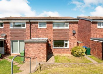 Thumbnail 3 bedroom end terrace house for sale in Vale Close, Seaford