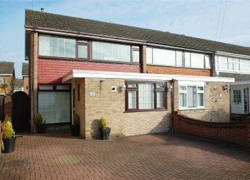 Thumbnail 3 bed end terrace house for sale in Duxford Close, Hornchurch
