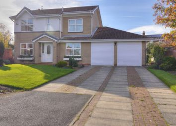 Thumbnail 4 bed detached house for sale in Humford Way, Bedlington
