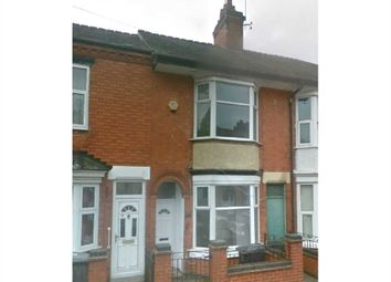 Thumbnail 3 bed terraced house to rent in Stafford Street, Leicester