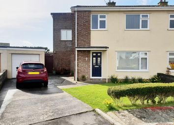 Thumbnail 3 bed semi-detached house for sale in Steepholm Close, Nottage, Porthcawl