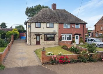 Thumbnail 3 bedroom semi-detached house for sale in Church Close, Pentney, King's Lynn