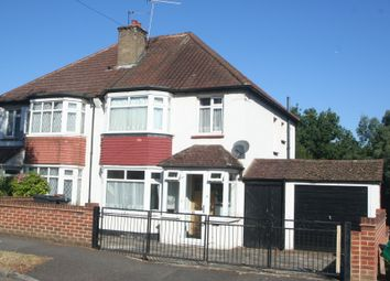 Thumbnail 3 bed semi-detached house for sale in Grasmere Road, Purley
