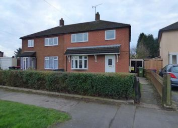 Thumbnail 3 bed semi-detached house for sale in Kingsway, Kingsbury, Tamworth, Warwickshire