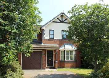 Thumbnail 3 bed detached house to rent in Mill Bridge Close, Crewe, Cheshire