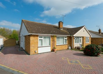 Thumbnail 2 bed semi-detached bungalow for sale in Chaucer Avenue, Whitstable, Kent