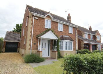 Thumbnail 4 bed detached house to rent in Harvester Way, Crowland, Peterborough