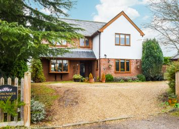 Thumbnail 5 bed detached house for sale in Longcroft, Hempstead, Saffron Walden, Essex