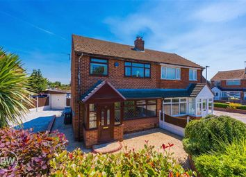 Thumbnail 3 bed semi-detached house for sale in Upton Road, Atherton, Manchester