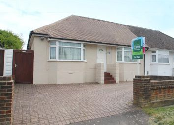 Thumbnail 3 bed semi-detached bungalow for sale in Busticle Lane, Sompting, West Sussex