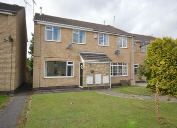 Thumbnail 2 bed end terrace house for sale in Gurney Crescent, Littlethorpe, Leicester