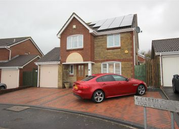 Thumbnail 4 bed detached house for sale in Garth Close, Chippenham