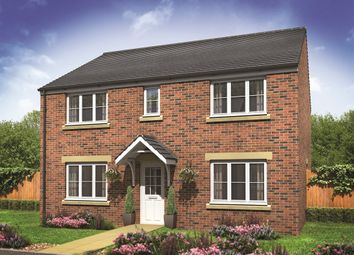 "Thumbnail 5 bed detached house for sale in ""The Hadleigh"" at Churchfields, Hethersett, Norwich"