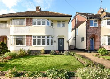 Thumbnail 3 bed semi-detached house for sale in Greencroft Avenue, Eastcote, Middlesex