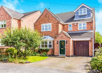 Thumbnail 5 bedroom detached house for sale in Boyslade Road East, Burbage, Hinckley