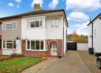 Thumbnail 3 bed semi-detached house for sale in Bassetts Way, Farnborough, Kent